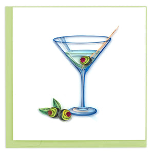 Martini - Quilling Card