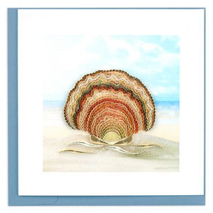 Sea Shell - Quilling Card