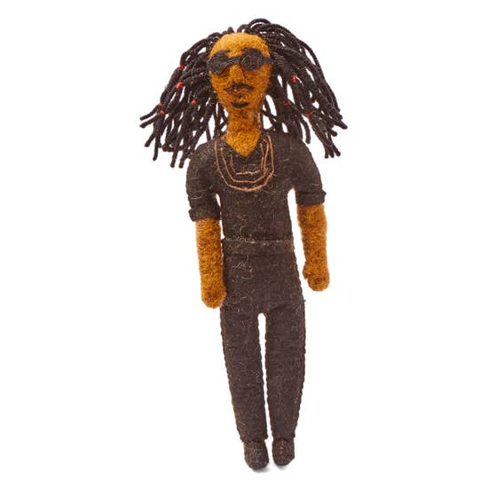Felt Ornament Collection - Stevie Wonder