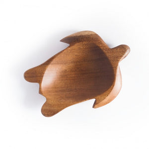 Acacia Wood Bowl - Turtle