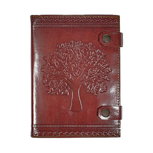Leather Journal - Tree