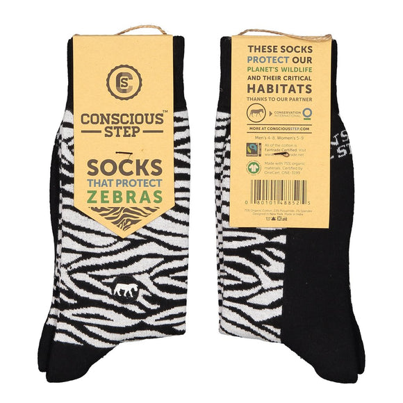 Socks - Protect Zebras
