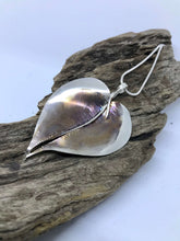 Load image into Gallery viewer, Sterling Silver Oxidised Leaf Pendant