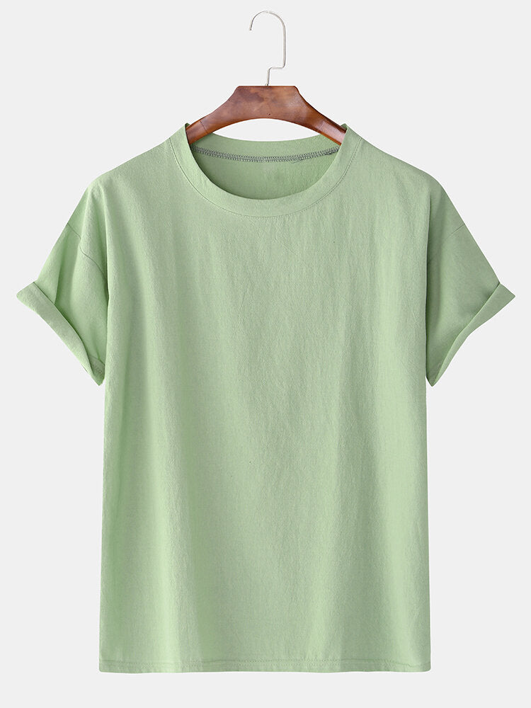 Special offer: breathable cotton T-shirt with short sleeves