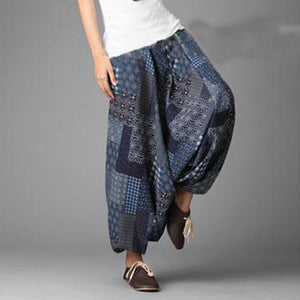 Pants are baggy, dancing, also suitable for women
