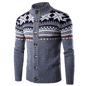 Winter knitted sweater