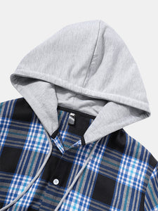 Men's stylish jacket with a hood