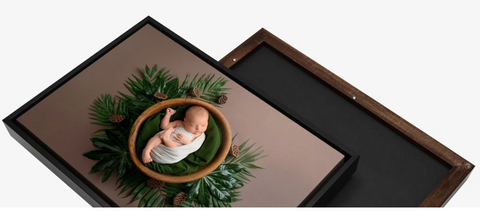 Wood Floating Frame
