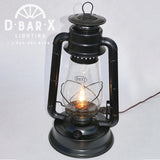 DX833: Lantern Table Lamp Light with Inline Switch
