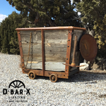 MI300 - NEW Replica Decorative Mining Ore Cart