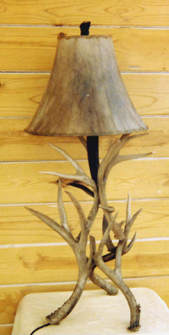 TL111 - Mule Deer Antler Table Lamp