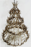 "4T300 - ""World's Largest Chandelier"" - 4 Tier Cascade Chandelier with Mule Deer/Elk Antlers"