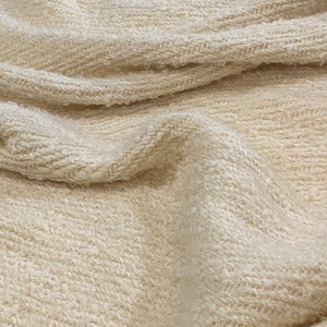 Lap Blanket (Natural Whites, with Textural Accents)