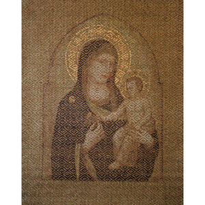 Woven Paper Textile: Hail Mary
