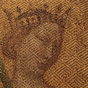 Woven Paper Textile: Queen of Heaven