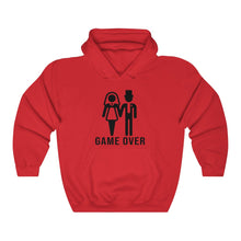 Load image into Gallery viewer, Game Over Labeled Unisex Long Sleeves Loose hoodies Sweatshirt with Pocket Multisize