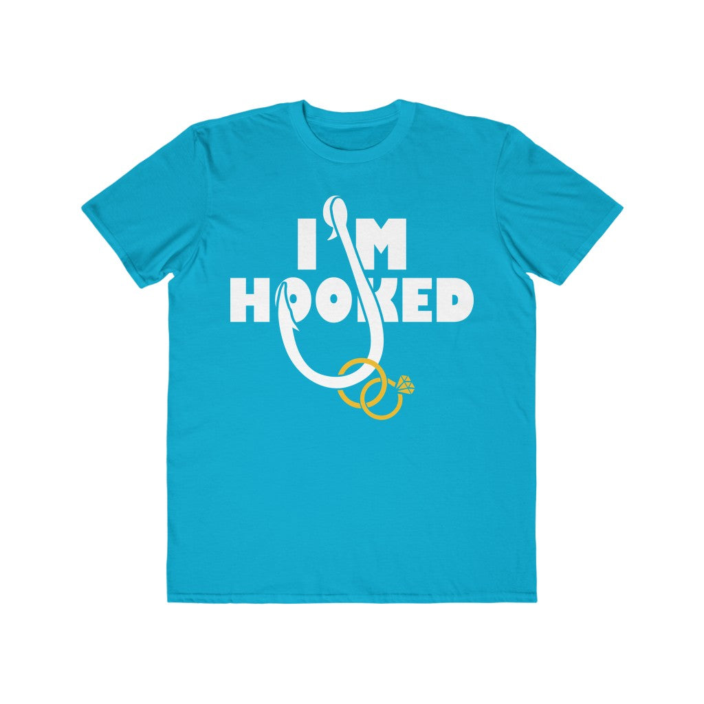 I Am Hooked | Printed Graphic Design | Casual Short Sleeves Unisex Tee | Women And Men | T-shirt | Multicolor