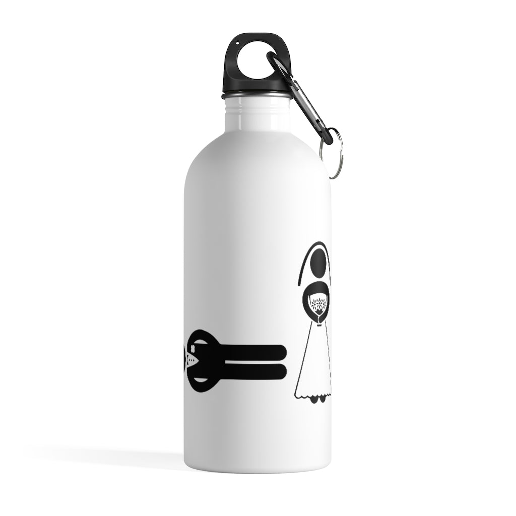 Water Bottle Stainless Steel Keep Hot Cold Water Double Walled Flask