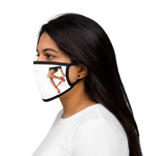Load image into Gallery viewer, Mixed Fabric Reusable Regular Facemask For Men And Women 100 % Cotton Inside Mixed Print And White Color