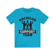 Load image into Gallery viewer, Bachelor Support Team Funny Wedding Bachelor Party Wedding Novelty Tee Men's And Women T-shirt | Short Sleeve Tee