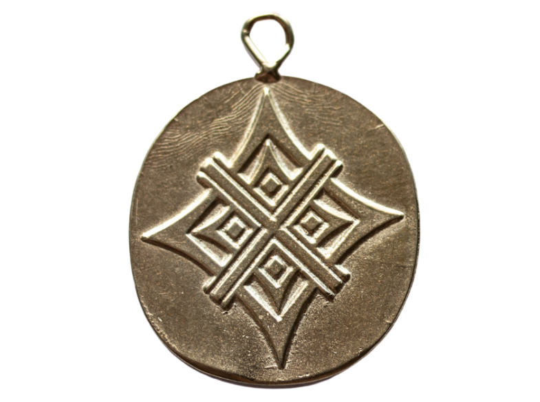 Light Bronze Artisan Tag