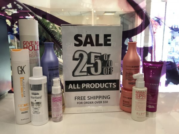 Hair Products Offer