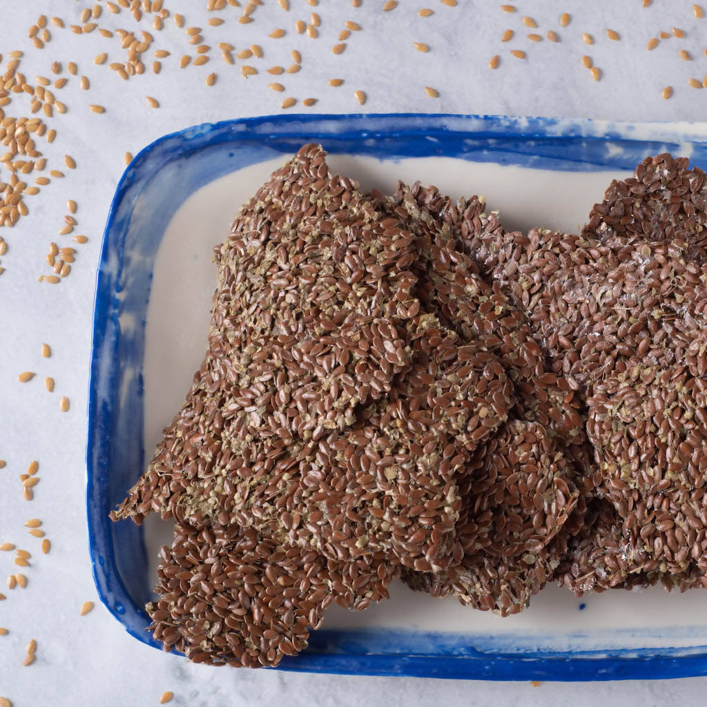 Lindseed Crackers - 65g