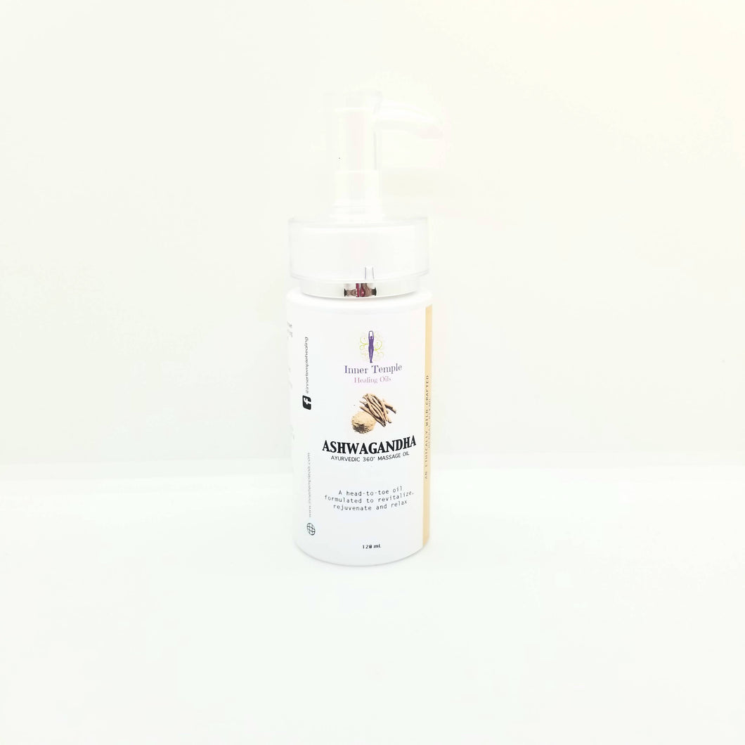 Ashwagandha Ayurvedic Massage Oil
