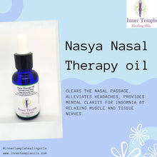 Load image into Gallery viewer, Nasya Therapy Oil