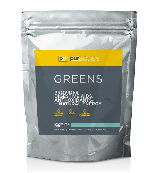 GREENS - ENCOURAGE MINT