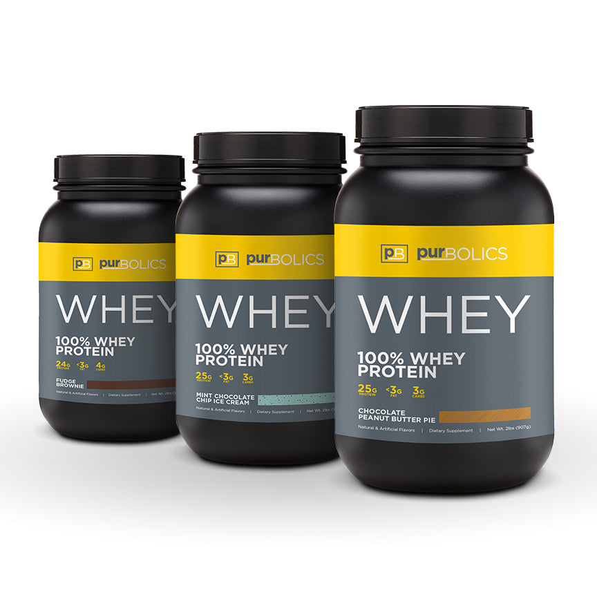 THREE WHEY STACK