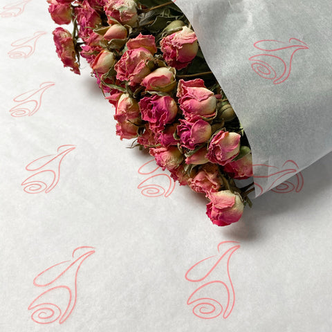 ecommerce wrapping paper flowers