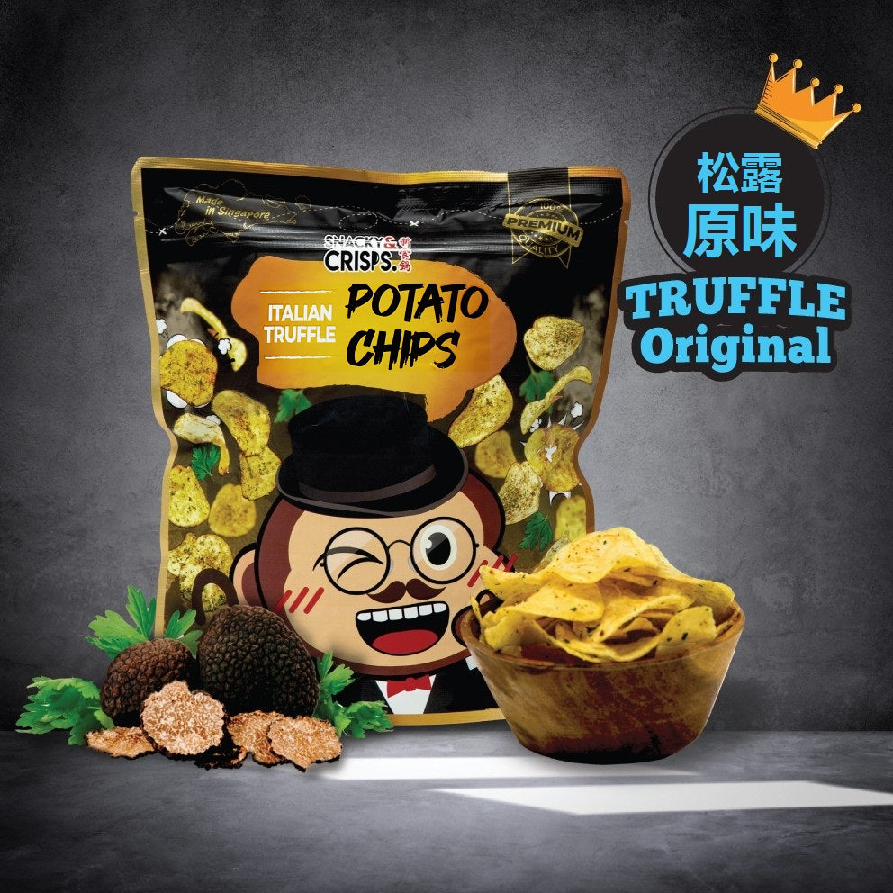 Snacky & Crisps Italian Truffle Potato Chips (80g)