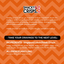 Load image into Gallery viewer, Snacky & Crisps Laksa Potato Crisps (105g)