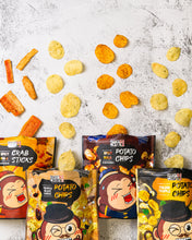 Load image into Gallery viewer, Snacky & Crisps Spicy Mala Potato Chips (80g)