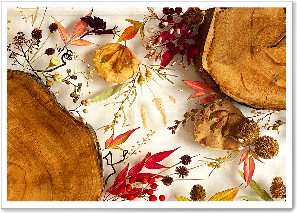 Load image into Gallery viewer, AUTUMN SERVING PLATTER - AUT011