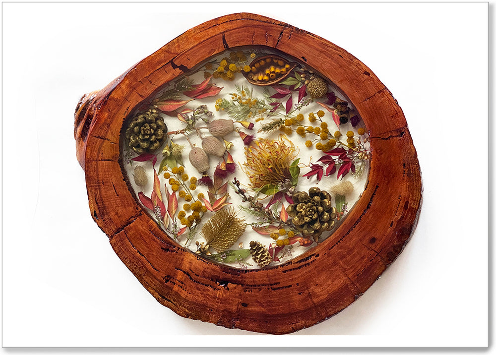 AUTUMN SERVING PLATTER - AUT012