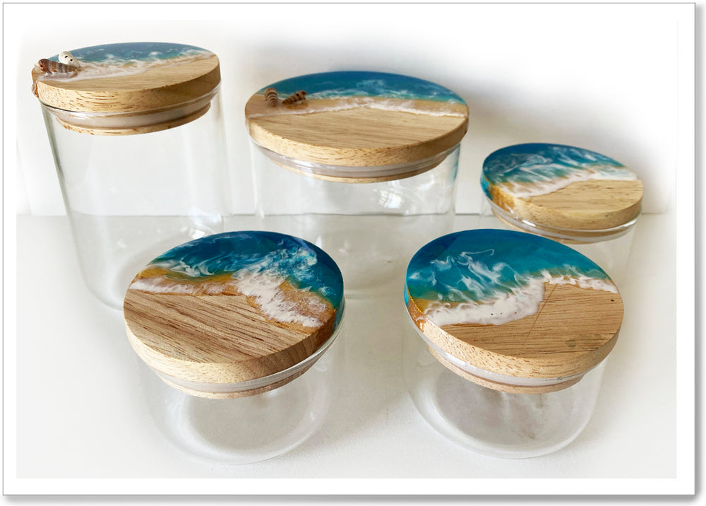 Load image into Gallery viewer, OCEAN JARS - VARIOUS SIZES