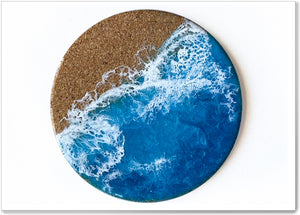Load image into Gallery viewer, OCEAN PLATTER & COASTERS - OSP004