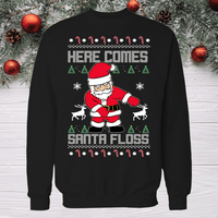 Here Come Santa Floss