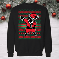 Dabing Santa ugly christmas sweater