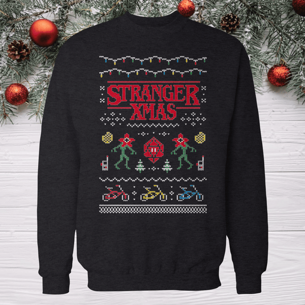 Strange Things Ugly Christmas sweater