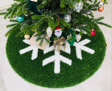 Load image into Gallery viewer, Christmas tree carpet - WINTER STAR