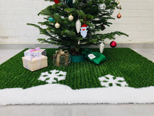 Load image into Gallery viewer, Christmas tree carpet - WINTER SNOW