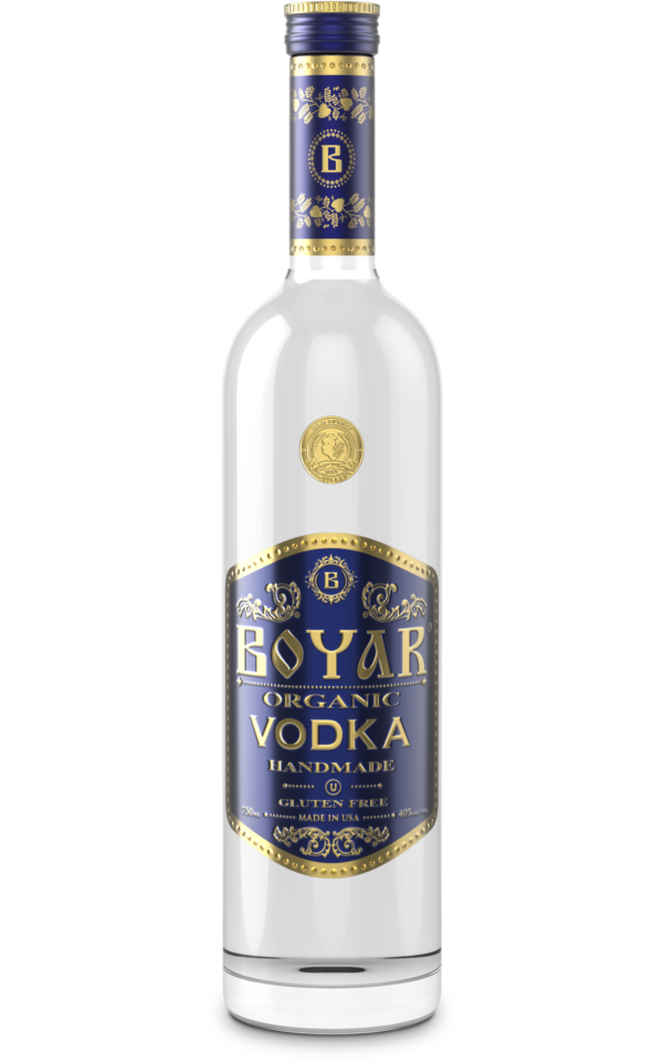 Boyar Vodka Organic 750ml