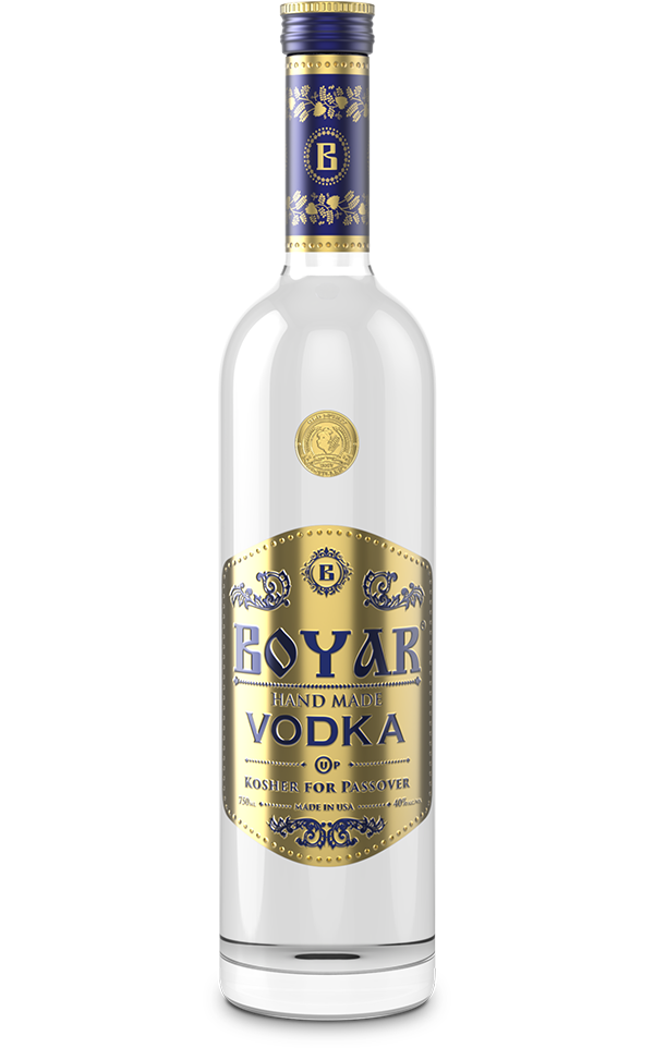 Boyar Vodka Passover 750ml