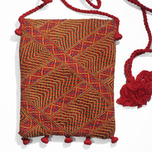 Load image into Gallery viewer, Fair trade embroidered sling bag
