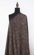 Load image into Gallery viewer, F_012 Hand printed Ajrakh Chanderi Silk with natural dyes  - 3 metres