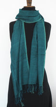 Load image into Gallery viewer, Fair trade eri silk and cotton scarf