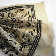 Load image into Gallery viewer, Hand embroidered silk shawl by Afroza Khatun